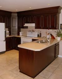 Crown Moulding Kitchen Cabinets Staggered Cabinets With Crown Molding Not Sure Yet How Dark But