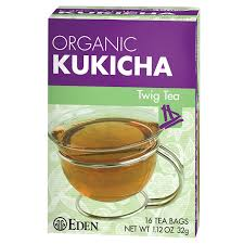 amazon com eden twig tea tea bags kukicha eden organic 1 12