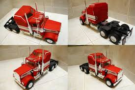 kenworth truck models 1 25 scale kenworth w900 model by gremmy x on deviantart