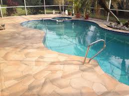 florida pool patio designs staining concrete to look like haammss