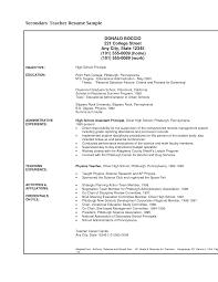 Ex Military Resume Examples by Resume Teaching Resume Sample For Freshers Tutor Resume Sample