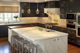 kitchen island with 4 bar stools kutsko kitchen