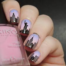 new york nails nail art by marine loves polish nehty pinterest