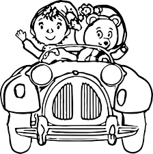 noddy cartoon coloring pages wecoloringpage