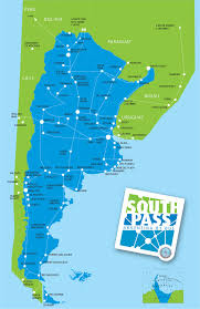 Map Of The South America by Is It Worth Buying The South Pass For Argentina Runaway Jane