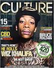 With his second cover this week, Wiz posed for the April cover of Culture ... - Culture---April-2011---Cover