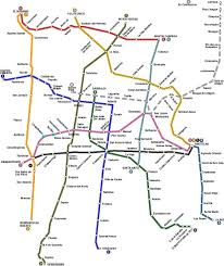 Mexico Cities Map by Mexico City Mexico Bus System Map Mexico City Mexico U2022 Mappery