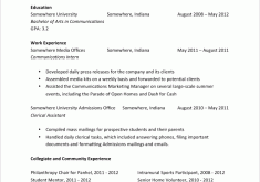 Entry Level Resume Examples by Exclusive Entry Level Resume Examples 9 Sample Cv Resume Ideas