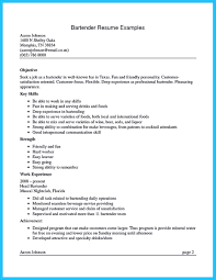 Personal Trainer Resume Example No Experience by Internet Offers Various Bartender Resume Template And Samples That