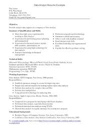 Business Intelligence Analyst Resume  it analyst resume  patient