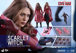 marvel scarlet witch costume marvel scarlet witch sixth scale figure by toys sideshow