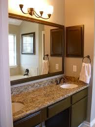 bathroom bathroom with cool decor ideas used yellow wall apint