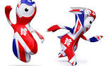 Olympic mascots Wenlock and Mandeville London UK Olympic games ...