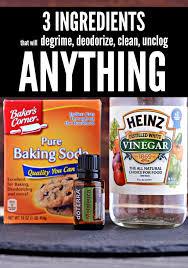 baking soda vinegar u0026 tea tree oil clean every gross job in