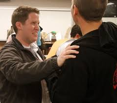 Why young LDS men are pushing back marriage   The Salt Lake Tribune Rick Egan   The Salt Lake Tribune John Evans  left  talks to Matt Owen