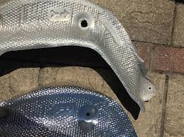lexus ct200h forum uk exhaust heat shield corrosion lexus ct 200h club lexus owners club