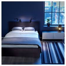 Bedroom Ideas With Blue And Brown Simple Modern Bedroom For Men With Wooden Bed And Lighting