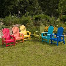 Best  Plastic Adirondack Chairs Ideas On Pinterest Painting - Colorful patio furniture
