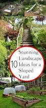 garden rockery ideas best 25 landscaping a slope ideas on pinterest sloped yard