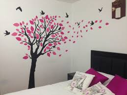 Bedroom Wall Decals Trees Uncategorized Cozy Bedroom Chairs Nice Beds Wall Sticker Tree