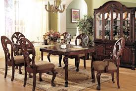 Dining Table Set Traditional Classic Dining Table Chairs