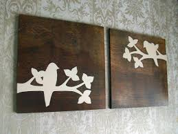 Home Decor Birds by This Beautiful Bird Silhouette Set Is My Original Design The