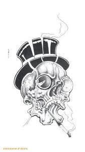Skull Tattoo Stencils Picture 1