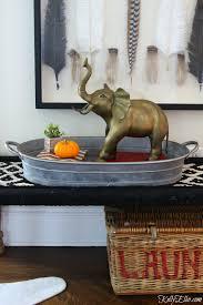 Brass Home Decor by Thrift Store Score Vintage Brass Elephant Kelly Elko