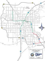 Vegas Monorail Map Street Map Of Las Vegas Virginia Map