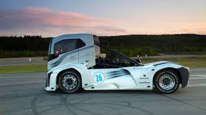 how much is a new volvo truck bbc autos make way for the world u0027s fastest truck