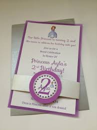 1st birthday princess invitation sofia the first birthday party invitations by divinedecorations