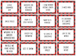 Halloween Quiz Printable by Christmas Charades Game And Free Printable Roundup A And A