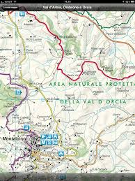 Tuscany Map Arbia Ombrone And Orcia Valleys Siena Province Tuscany Now