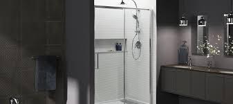 levity shower doors showering bathroom kohler