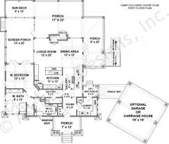 camp cullowee mountain house plans luxury house plans