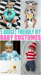 5 budget friendly homemade diy baby halloween costumes