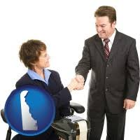 Delaware Human Resources  middot  delaware a court reporter shaking hands with an attorney
