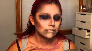 Easy Zombie Tutorial Simple Halloween Makeup Youtube