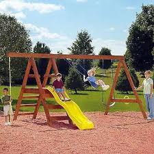 swing set hardware kit outdoor playsets wooden diy backyard