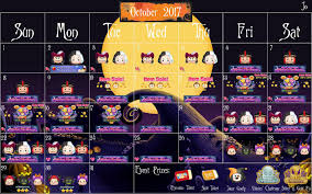 dragon city event halloween october 2017 disney tsum tsum features disney villains halloween