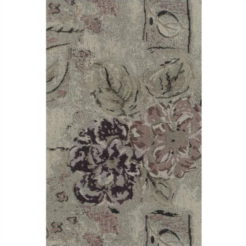 Blazing Needles S/5 Tapestry Futon Cover Package In Flora - 9680-cd-tp-60