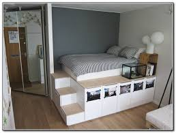 Build Diy Platform Bed by Loft Bed With Stairs Plans Free Beds Home Furniture Design