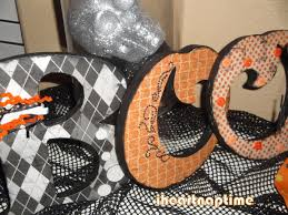 Halloween Decoration Craft Halloween Decor Boo Letters I Heart Nap Time