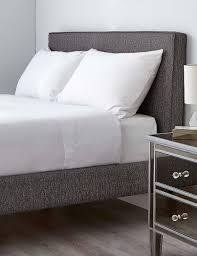 plain bedding cotton double u0026 single white bedding m u0026s