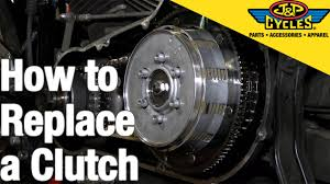 how to replace a clutch in a big twin harley davidson youtube