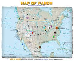 Colorado Unit Map by Hunger Games Lessons My Updated Map Of Panem The Hunger Games