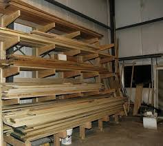 Rolling Wood Storage Rack Plans by Plywood And Lumber Rack Ideas