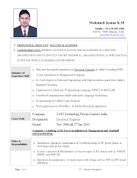 Resume Samples Of Software Engineer by Download Sample Resume For Experienced Software Engineer Resume
