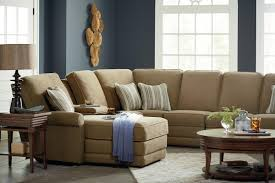 Lazy Boy Furniture Outlet Six Piece Reclining Sectional Sofa With Laf Chaise And Cupholders