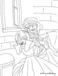 rapunzel and gothel coloring pages hellokids com